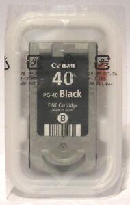 Canon PG-40 PG40 Genuine Black Cartridge. New & Sealed.
