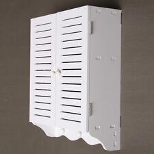 Bathroom Storage Cupboard Cabinet Hung Shelf Organizer Holder Wall Mounted AU