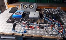 MONOBLOCK FULL RANGE AMPLIFIER E1200 / CABILIER 300W 2 CHANNEL AMPLIFIER & SUB