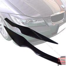 Painted BMW E90 3-SERIES 4D SEDAN HEADLIGHT EYEBROWS EYELIDS §