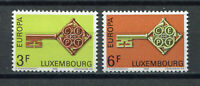 S10416) Luxembourg 1968 MNH Europa 2v