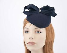 Navy winter racing fascinator by Fillies Collection Made in Australia RRP $129