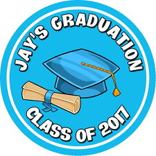 PERSONALISED,NEW SCHOOL, GRADUATION, STICKERS,GLOSSY  SEALS LABELS,