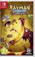 Rayman Legends Definitive Edition - Nintendo Switch Spiel - NEU OVP