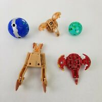 Lot of 5 Bakugan Battle Brawlers Toy Sphere Ball Figure 60G 550G 600G 640G 650G