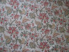 "SANDERSON CURTAIN  FABRIC DESIGN  ""Brocton Minor"" 2.1 METRES 100% COTTON (210 CM"