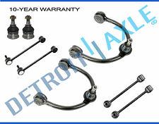8pc Front Suspension Upper Control Arm Kit 05-10 Jeep Commander Grand Cherokee