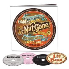 Small Faces Ogden's Nut Gone Flake 50th Anniversary 3 X CD 1 X DVD Earbook Set