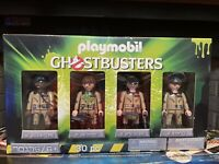 Sealed Playmobil Ghostbusters Set 4 Mini Action Figures Team Collectors 70175