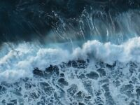 """perfect 36x24 oil painting handpainted on canvas """"sea wave """"@N1224"""