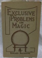 Exclusive Problems in Magic by Bagshawe Edward
