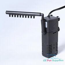Aquarium Internal Filter 3-in-1 Multi-Function Pump 40 Gallon Fish Tank 160 GPH
