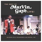 Marvin Gaye : Live: Recorded Live at the Montreux Jazz Festival Two CD Set  NEW