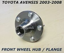 FOR TOYOTA AVENSIS T25 FRONT WHEEL BEARING HUB FLANGE LEFT RIGHT SIDE 2003-2008
