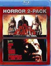 The Devil's Rejects House of 1000 Corpses Horror Two-Pack Blu-ray Rob Zombie NEW