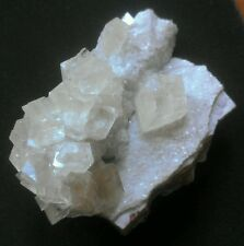 ***TOP SHELF SUPERB-Fluorescent Calcite crystals on matrix, mine Tsumeb***