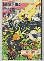 Ghost Rider; Wolverine; Punisher: Hearts of Darkness 1991 Marvel 1st Lucy Crumm!
