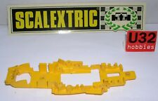SCALEXTRIC EXIN CHASSIS FERRARI B3 F1 YELLOW C4052 EXCELLENT CONDITION