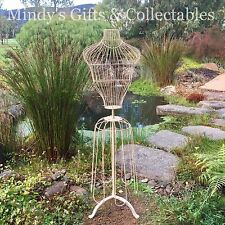 Vintage Industrial Style Wire Metal Dressmakers Mannequin Window Display