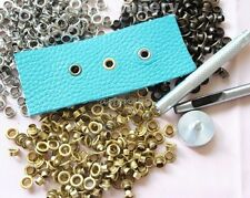300PCS 3 Color Eyelet & Setter Kit Leathercraft sca larp boot camp repair lace