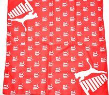 100% Cotton Puma Extreme Sports Casual Bandana ( RED ).Unisex Headband