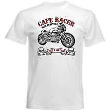 Vintage italienische Motorrad Moto Guzzi Cafe Racer 1000-NEU Baumwolle T-Shirt