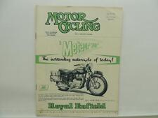 July 1953 MOTORCYCLING Magazine Royal Enfield Meteor 700 Matchless AJS L8462