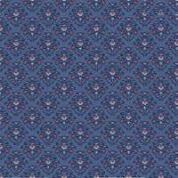 Riley Blake Midnight Rose Damask Navy Blue C8651-NAVY fabric new