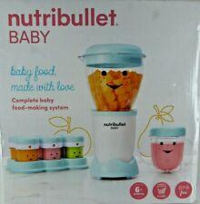 NUTRIBULLET BABY Complete Food Prep System 6+ Months BPA Free