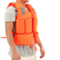 High Quality Life Jacket Foam Buoyancy Aid Vest Kayak Sailing Canoe Lifejacket~.