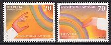 Switzerland - Offices /  UPU - 1999 125 years UPU - Mi. 17-18 MNH
