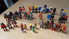 Lot de 40 figurines playmobil + moto police - Playmobil Figures 40 pcs motorbike