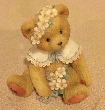 "1993 Cherished Teddies 914797 ""Friendship Is In Bloom"" May Bear Figurine"