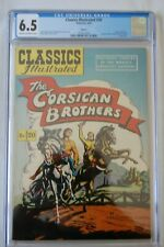 CLASSICS ILLUSTRATED COMICS #20 THE CORSICAN BROTHERS HRN 62 CGC 6.5 2ND HIGHEST