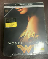 Wonder Woman [4K Ultra HD+BluRay+Digital] BRAND NEW! STEELBOOK!