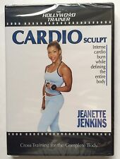 Jeanette Jenkins The Hollywood Trainer 'Cardio Sculpt' DVD (2003) BRAND NEW