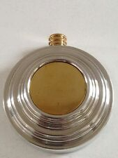 ENGLISH PEWTER ROUND HIPFLASK