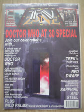 DOCTOR WHO TV ZONE SPECIAL #11 - DEC 1993 – DOCTOR WHO AT 30 + POSTER