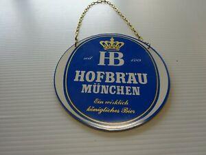 Hofbräu München Zapfhahnschild 05