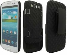 OEM Shell Holster Combo Case for Samsung Galaxy S3 with Kick-Stand