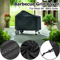 """48""""X47"""" BBQ Barbecue Gas Grill Cover Waterproof Heavy Duty Outdoor Dust Proof"""