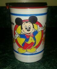 Walt Disney World on Ice Magic Kingdom Whirley Travel Mug Cup Lid Disney's