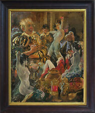 VIRGIL REILLY (1892-1974) Original Gouache 1930 Norman Lindsay Rosaleen Norton