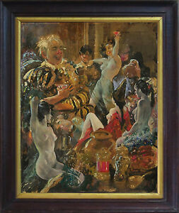 VIRGIL REILLY (1892-1974) Original Gouache 1930 Norman Lindsay Rosaleen Norton