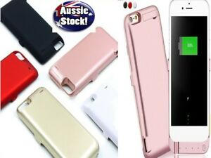 External Battery Case PowerBank Pack Charging Cover For iPhone6 6S 7 8 Plus AU