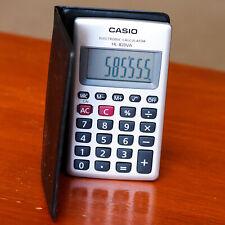 Casio Pocket Electronic Calculator Hl-820Lv-Va Large Display 8-Digit Lcd