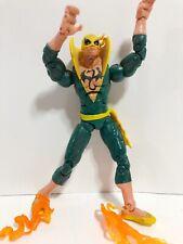 Iron Fist Vintage Toybiz Marvel Legends Action Figure 2005 Apocalypse Wave Flame