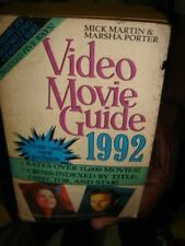 INDIA RARE -  VIDEO MOVIE GUIDE 1992 MICK MARTIN & MARSHA PAGES 1514