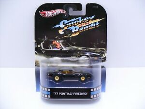 2012 Hot Wheels Retro Entertainment Smokey and the Bandit Firebird Real Riders