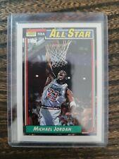 1992 TOPPS MICHAEL JORDAN 115 ALL STAR BASKETBALL CHICAGO BULLS